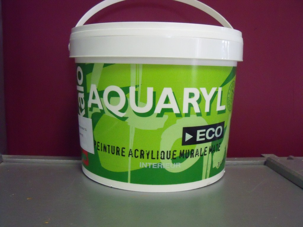 aquaryl eco peinture interieure mate acrylique petit prix. Black Bedroom Furniture Sets. Home Design Ideas
