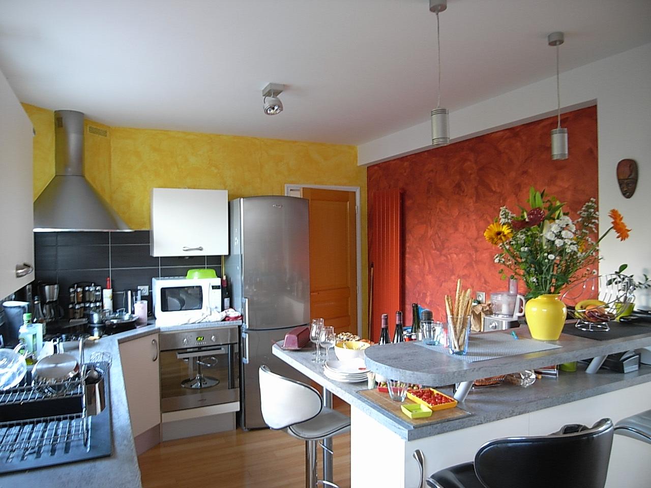 Cuisine peinture peinture frehel deco for Peinture avec effet