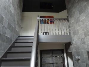 Hall D 39 Entr E Cage Escalier Peinture Frehel Deco