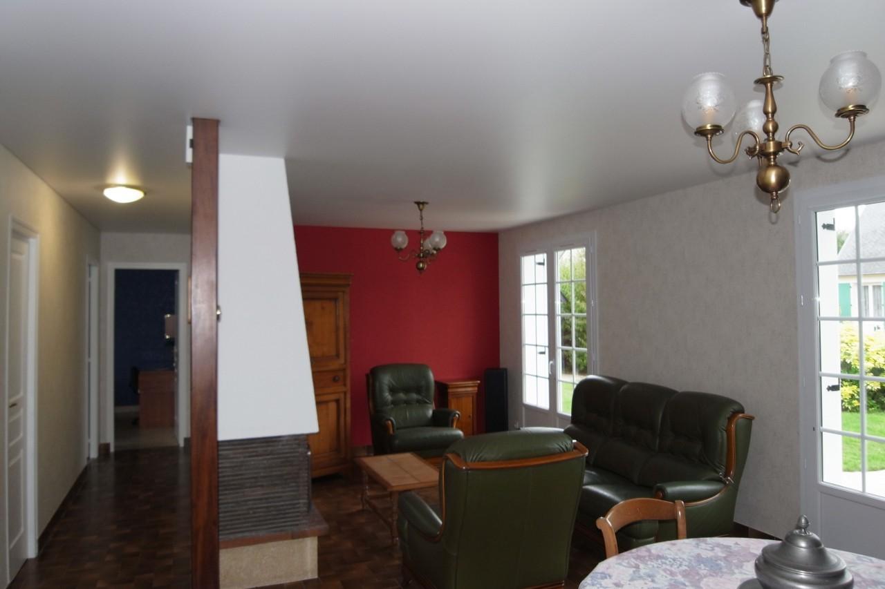 Salon s jour peinture frehel deco morbihan loire for Peinture salon sejour