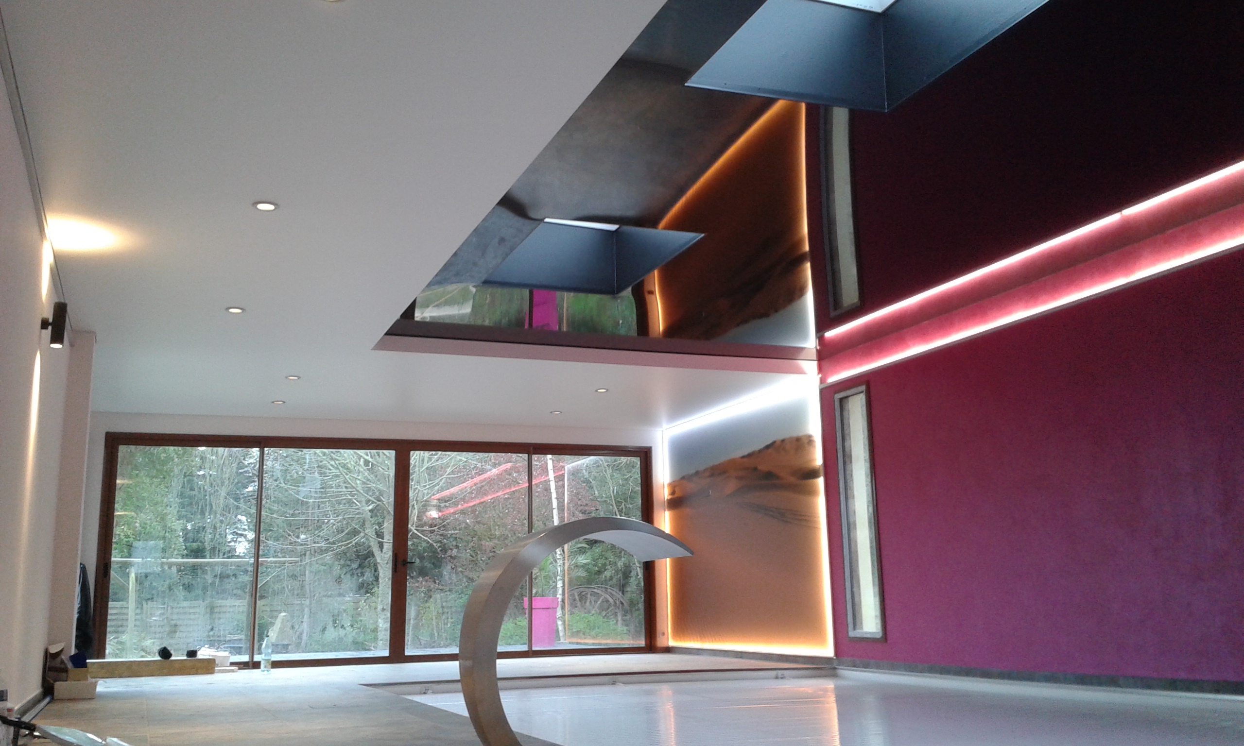 r alisations plafond tendu peinture frehel deco. Black Bedroom Furniture Sets. Home Design Ideas