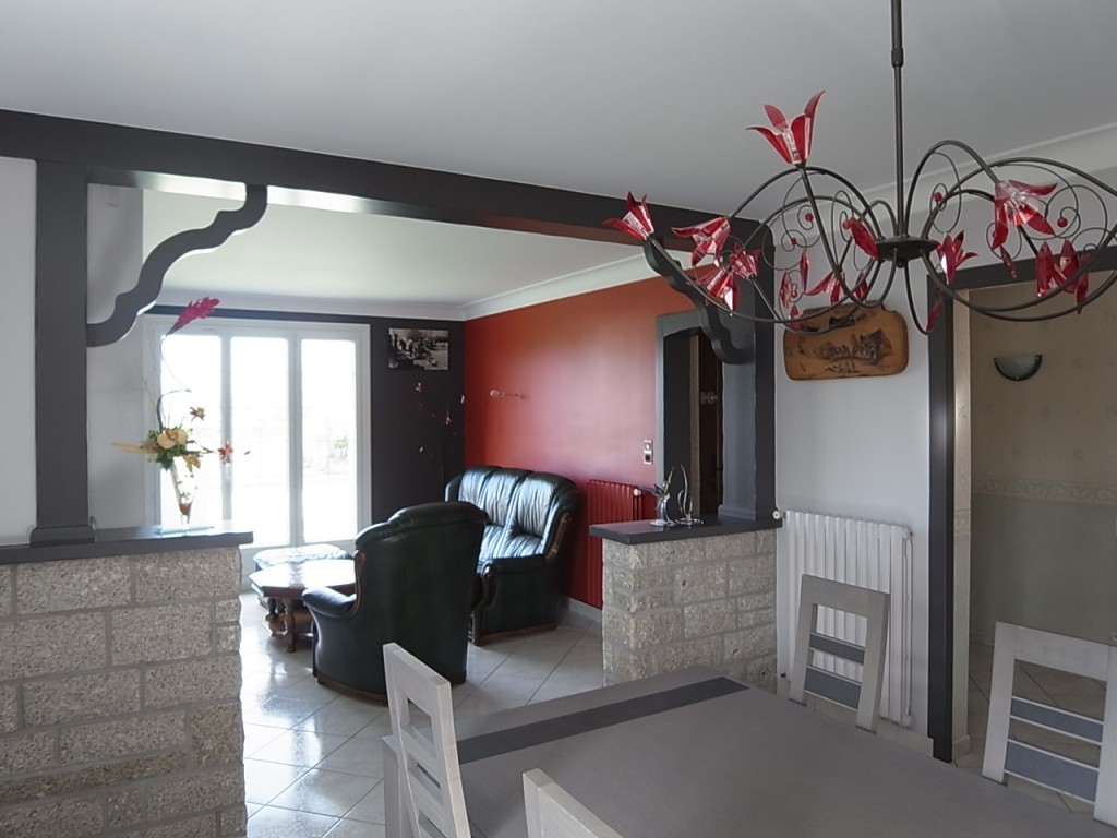Salon séjour, peinture, revêtement mural, plafond tendu Loire Atlantique, 44