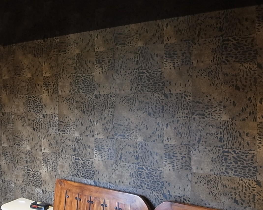 Réalisation revêtement mural Elitis à Muzillac dans le Morbihan, 56