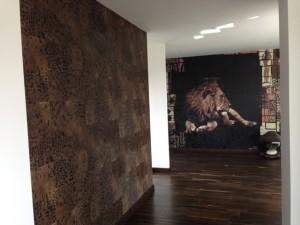 Réalisations de revêtement mural, gamme Mémoires de Elitis, Fréhel Déco Morbihan et Loire Atlantique