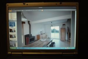 Projet sur logiciel couleurplus, Décoration Peinture, simulation de projet de peinture chez Fréhel Déco à la Roche Bernard Morbihan, 56