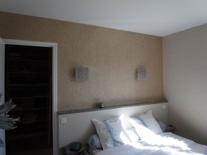 Chambre peinture et revêtement à Vannes dans le Morbihan, 56